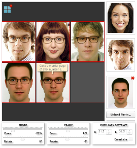 The new Tile View of snapshots to compare glasses